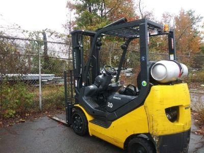 2017 Komatsu FG20ST-16 Forklift, 3,550 Cap RTR# 8113109-02