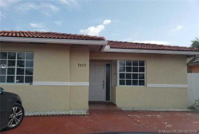 7217 W 35th Ave Hialeah Three BR, Well maintain 3/2 Single family