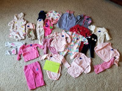 6 & 6-9 month baby girl clothes