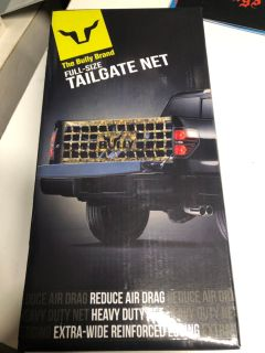 Bully camouflage tailgate net