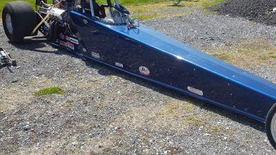 2001 suncoast dragster (roller)