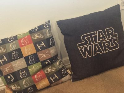 Star Wars pillow covers set of two