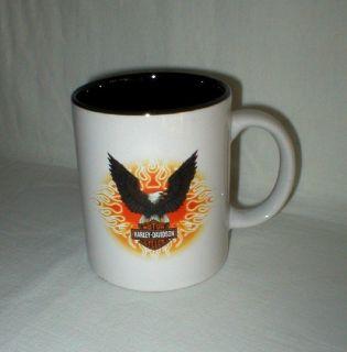 Harley-Davidson Motor Cycles Coffee Mug - Flying Eagle - 1998