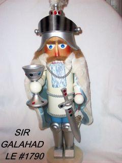 STEINBACH LIMUTED NUTCRACKER-SIR GALAHAD