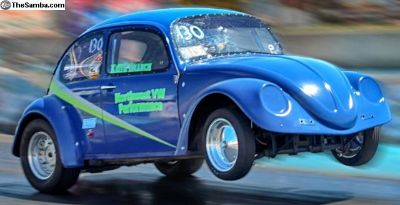 68 VW Drag Bug, Rancho Tranny, 1390 lbs