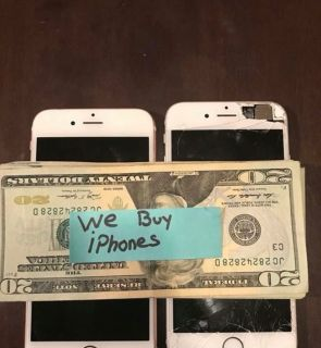 IPhone 7 + or newer. Any condition any carrier