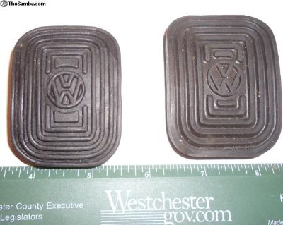 NOS Rubber Pad For Brake/Clutch Pedal 311 721 173A