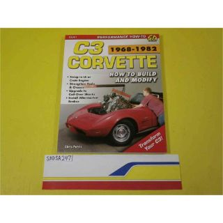 Sell SA Designs SA247 Book Corvette C3 1968-1982: How to Build and Modify 176 pages motorcycle in Decatur, Georgia, United States, for US $19.98