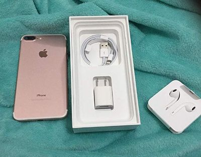 Used Apple iPhone 7 Plus AT&T 32 GB (Rose Gold) Locked to AT&T