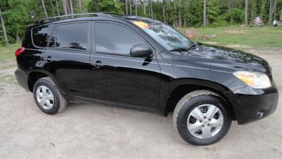 2007 Toyota RAV4 Base (Black)
