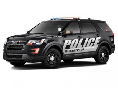 2019 Ford Explorer Police Interceptor (Agate Blk)