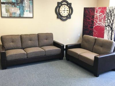 Daytona sofa and loveseat - Will deliver within 50 miles