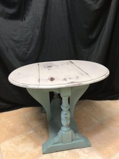 Fun little refinished side table