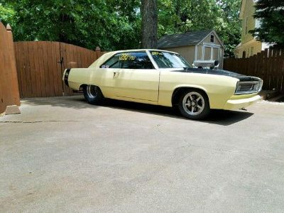 plymouth scamp 1973 drag car