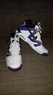 Andre Agassi's Nike air tech challenge 3 og votage purple size 12