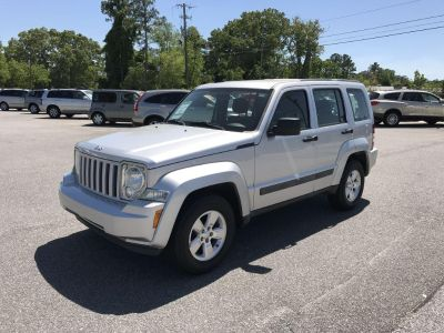 2012 Jeep Liberty Sport 4d Suv