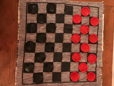 Floor Checkers/Tic Tac Toe Game