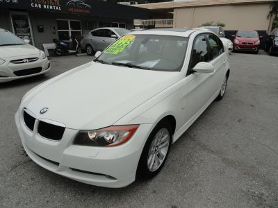 2007 BMW 3-Series 328i (White)