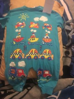 Planes boats cars trucks outfit size 18 months