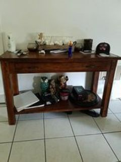 entry way or foyer table