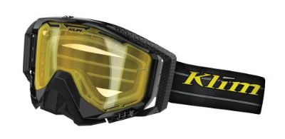 Purchase KLIM Radius Blackout/DBL Yellow Tint motorcycle in Sauk Centre, Minnesota, United States, for US $55.00