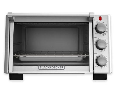 NEW IN BOX-Black + Decker 6-Slice Convection Toaster Oven