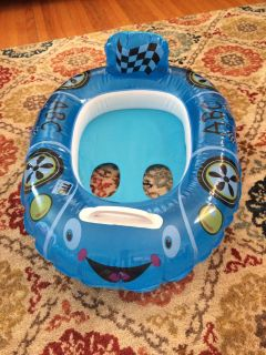 Baby Pool Float - Inflated & Ready to Go!