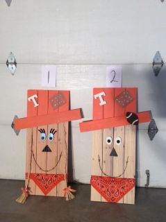 Handmade Tennessee Scarecrows