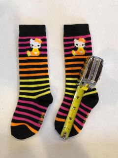 Hello Kitty striped socks, New without tags