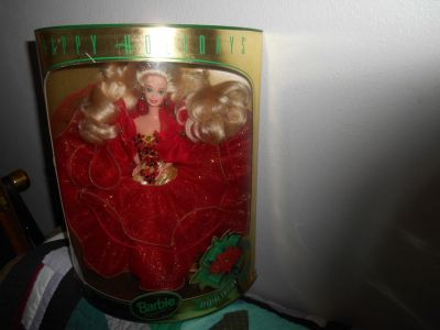 happy holiday barbie doll 1993 christmas special limited edition