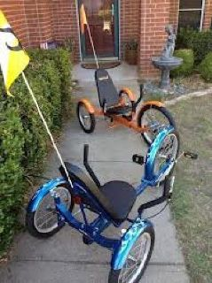 $200 OBO mobo Triton 3 wheel recumbant cycle