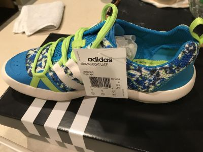 Brand New adidas boat shoes - Woman s 8.5
