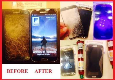 $45, iPhone  Samsung Screen Repairs