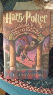 "Harry Potter ""and the sorcerer's stone"" Hardcover book. Brand new."