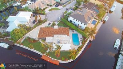 One of the best opportunities to have over 220 feet of linear water frontage in Lighthouse Point