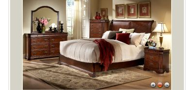 Low Profile King Bed Group- On Sale