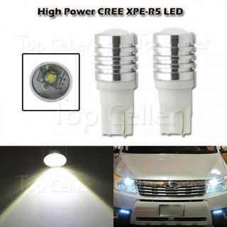 Purchase W5W White CREE XP-E R5 High Power 2825 194 Parking Light Headlight Driving Bulb motorcycle in Milpitas, California, United States