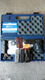 For Trade: Colt New agent 45
