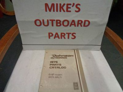 Purchase 1975 JOHNSON OUTBOARD 6HP PARTS CATALOG @@@CHECK THIS OUT@@@ motorcycle in Atlanta, Georgia, United States, for US $14.99