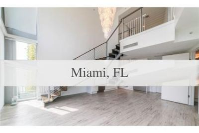 3 bedrooms House - Direct Miami Riverfront views from this luxurious two story town home.