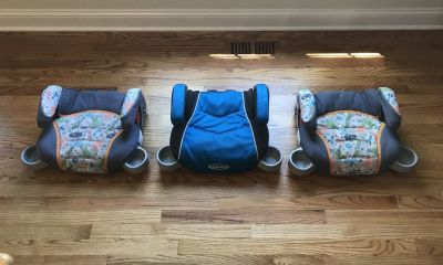 Graco Booster Car Seats - 3 For Sale