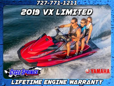 2019 Yamaha VX LIMITED **FREE LIFETIME WARRANTY OR FREE TRAILER** PWCs Clearwater, FL