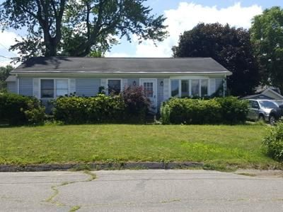 3 Bed 1 Bath Preforeclosure Property in Chicopee, MA 01013 - Frederick St