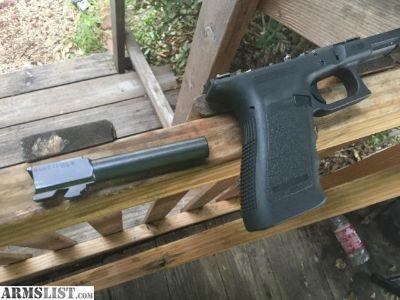 For Sale: glock frame and barrel