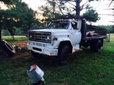 1980 GMC Flat Bed Dump Truck