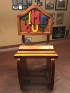 Time Out Wooden Toddler Chair