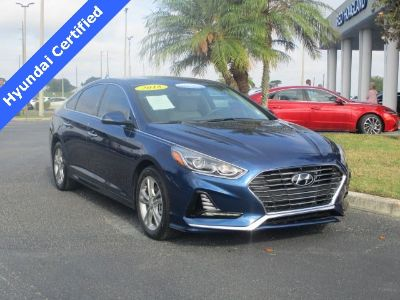 2018 Hyundai Sonata Limited (Lakeside Blue)