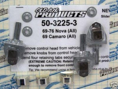 Purchase Lever Kit - 3 pcs.1969-1974 Camaro [50-3225-3] motorcycle in Fort Worth, Texas, US, for US $45.50