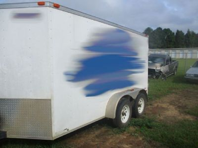 2017 Freedom 7' X 12' Enclosed Trailer RTR# 8083165-01