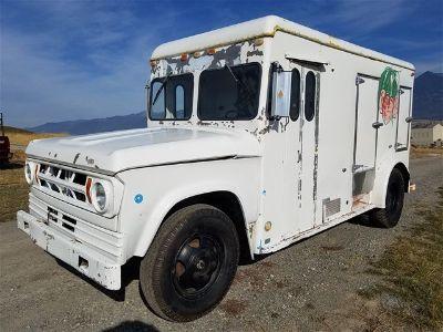 1969 Dodge B400 Milk Truck